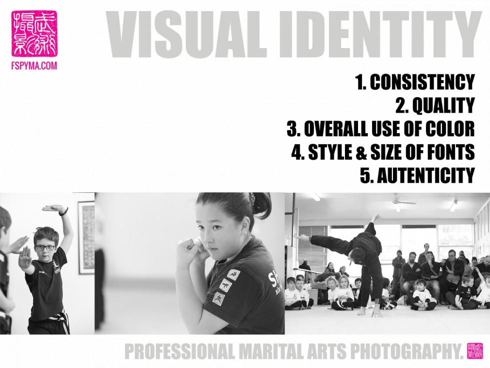 VISUAL DYNAMICS 6 * * HOW STRONG IS YOUR VISUAL IDENTITY?