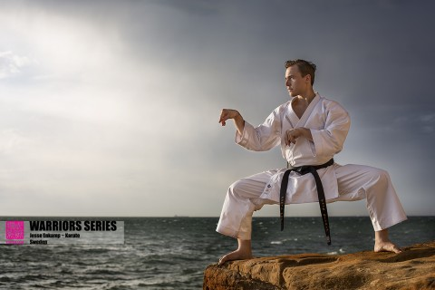 warriors series jesse enkamp karate nerd