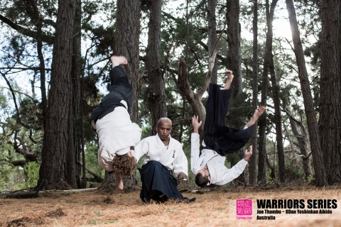 warriors series joe thambu aikido